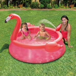 Other - NEW Flamingo Spray Inflatable Quick Set Pool